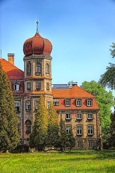 The Palace in Brynek - Poland Travel - Silesia Positive Energy - Poland Photos - Tourism in Poland The Beautiful Country, Beautiful World, Beautiful Places, Old Mansions, Abandoned Mansions, Beautiful Castles, Beautiful Buildings, Visit Poland, Central And Eastern Europe