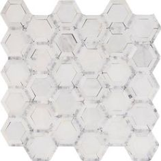 Telaio Hexagon 12 in. x 12 in. x 10 mm Honed Marble Mesh-Mounted Mosaic Tile TELAIO-2HEX at The Home Depot - Mobile