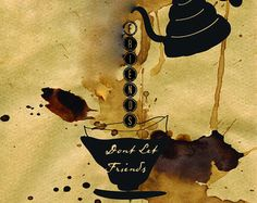 Friends Don't Let Friends Drink Bad Coffee - Card #friends #pourover #coffee #greetingsfromyourcat