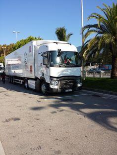 Optifuel challenge 2014 - The international final - Renault Trucks T - International truck of the year ! #optifuelchallenge #itoy #renaulttrucks