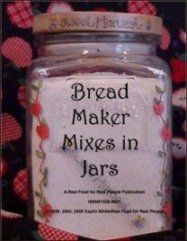 Bread Maker Mixes from Real Food for Real People  - Really?  As if the bread maker doesn't simplify the bread-making process enough.  Now you can make bread maker mixes and have on hand for when you want warm bread.
