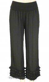 Trade on your yoga pants for these amazing comfortable BB Tequila Palazzo Pant In Black. Yoga pant alternative
