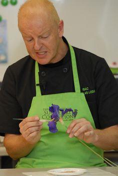 Nicholas Lodge, Master chef and sugar flower artist.