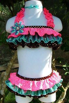 Swimwear 034-Jordan Grace Princesswear Custom Pageant Swimwear
