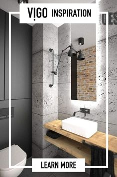 The very first thing you ought to do when renovating your bathroom is to set up a plan and a budget. Most significantly, have a plan prior to beginning, and you'll soon have the bathroom you want at a low… Continue Reading → Bad Inspiration, Bathroom Inspiration, Bathroom Inspo, Bathroom Ideas, Large Bathrooms, Small Bathroom, Bathroom Black, Master Bathroom, Industrial Bathroom