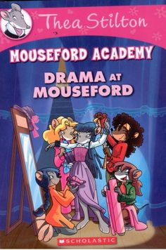 Thea Stilton - Drama at Mouseford -  Paperback - NEW