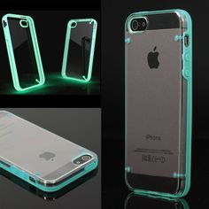 Luminous Style Glowing Hard Bumper Skin Back Case Cover For iPhone 5 5G