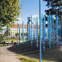 Guldbergs Plads by 1:1 Landskab.  Nørrebro, Copenhagen