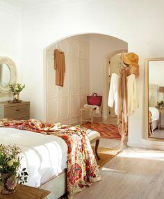 The built in wardrobe! La casa de las mimosas · ElMueble.com · Casas