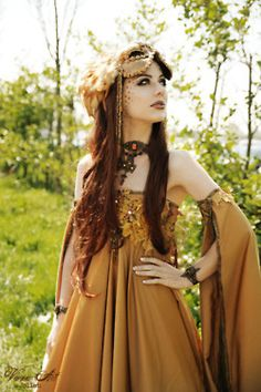 autum goddess costume by Jolien Rosanne  picture by viona art