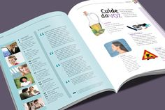 Aproximar. Magazine. Editorial design by Karla Nazareth.  Contax | Magazine | Endomarketing