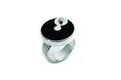 Sterling silver and Onyx Ring.  #Jewelry #Onyx #Ring #SterlingSilver #Handmade