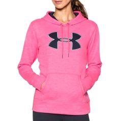 Under Armour Women's Storm Armour Fleece Big Logo Twist Hoodie | DICK'S Sporting Goods