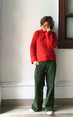 Bertha - Eine britische Hose - mamimade Brave, Skinny, Men Sweater, Sewing, Sweaters, Clothes, Style, Fashion, Be Brave