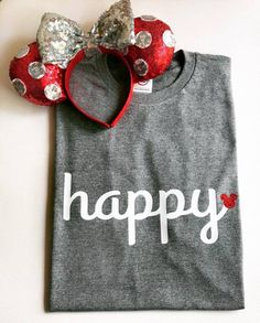 Happy with Glitter Mickey (Can be done with a matte Mickey if preferred, just note when purchasing) Can also be done with glitter or matte heart in...