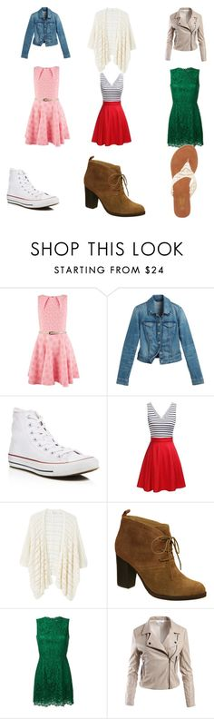 """Dress up days #1"" by bridgerz on Polyvore featuring Closet, White House Black Market, Converse, MANGO, Nicole, Dolce&Gabbana, Sans Souci and Charles Albert"