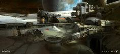 Destiny: Moon Base, Dorje Bellbrook on ArtStation at http://www.artstation.com/artwork/destiny-moon-base-584e7474-6f65-4793-9b46-23f0e5289697