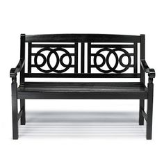 As featured in HGTV Magazine, our customer-favorite Amalfi bench is an inviting sight (and seat) at any threshold. At this price, you'll want to add one    in the garden and on the balcony, too.  Grandin Road Editors    Park the Amalfi bench beside your front door, on the patio or in a sun-dappled spot in the backyard. Wherever Amalfi goes, so follows the timeless style of    a classic park bench made complete with a simple, elegant geometric design. Gracefully curving arms, scrolled det...