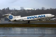 BOEING 727 Pan Am airlines back in he day