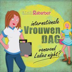 Rabarber is powered by women. Dus bij Rabarber is het elke dag vrouwendag. Maar vandaag is het internationale vrouwendag. Enjoy!