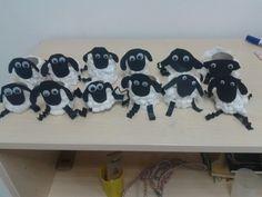Sheep Craft / animals  / toilet paper roll craft