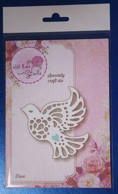 Wild Rose Studio 'Dove' Specialty Die SD069 | eBay