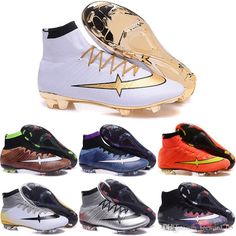 7449e2341e5 2019 Drop Shipping Wholesale Football Shoes Men Mercurial Superfly V FG  Soccer Boots 2017 New Outdoor High Quality Men S Sports Shoes Size 6.5 11  From ...