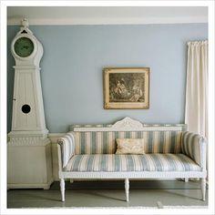 swedish gustavian blue and white