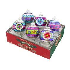 Christmas Brites Decorated Rounds with Reflectors