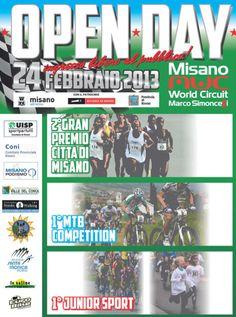 Misano World Circuit Open Day 24 febbraio 2013. Ingresso libero al pubblico.Scuola Mountain Bike, prove in pista, corsa campestre, esibizioni bikefun, MTB