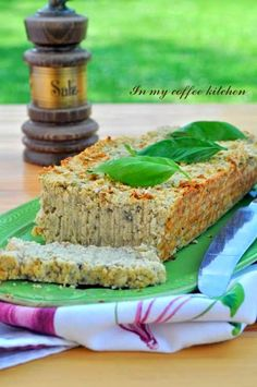 In my coffee kitchen Dinner Dishes, Dinner Recipes, Vegan Vegetarian, Vegetarian Recipes, No Cook Appetizers, Polish Recipes, Banana Bread, Sandwiches, Baking