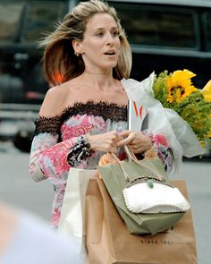 "From Sex and the City~  ""Shopping is my cardio""~  ~Carrie Bradshaw                I agree"