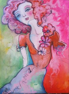Original Figurative Fashion Illustration by Liz Vaughn, Oil on Paper, Unframed, x Available for Purchase Canvas Paper, Oil On Canvas, Watercolor Tattoo, Original Paintings, My Arts, The Originals, Figurative, Illustration, Fashion