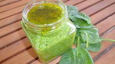 Doces Experiências: Pesto de Espinafres e Amêndoas