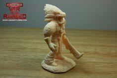 Xochatl mini test print for ECHO-War Of The Ravaged. 3d Printing, War, Statue, Mini, Impression 3d, Sculptures, Sculpture, 3d Typography