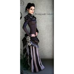 victorian+steampunk+costume | 35 Steampunk Neo-Victorian Costumes Outfits for Women liked on ...