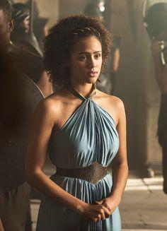 Nathalie Emmanuel in 'Game of Thrones' (2011). x