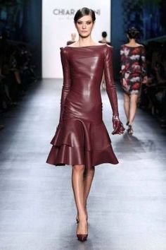 They are my favorite dresses. Look Fashion, Runway Fashion, Fashion Show, Womens Fashion, Fashion Design, Fashion Goth, Steampunk Fashion, Leder Outfits, Latex Dress