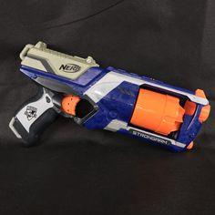 Nerf Gun Strong Arm blaster kids outdoor play fun n-strike elite no foam bullets