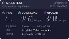Veja meu resultado do Speedtest! O quanto sua internet é rápida?
