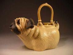 Dog Teapot | Pug Tea pot