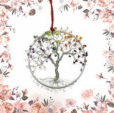 "5"" Chakra Suncatchers Tree of Life"