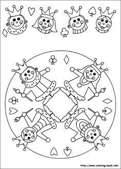 * Mandala: Koning & Koningin!