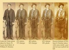 """Some historians are skeptical that a new photo recently """"authenticated"""" by a Houston forensic artist is really that of the gunslinger and rustler who was shot to death by Lincoln Bonnie Parker, Bonnie N Clyde, Forensic Artist, Famous Outlaws, Saloon Girls, University Of New Mexico, Unusual Facts, Billy The Kids, Forensics"""