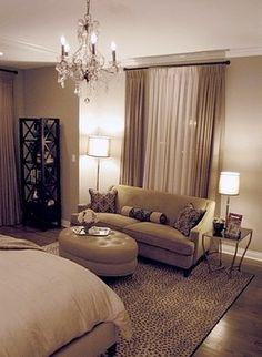Great bedroom chandelier.