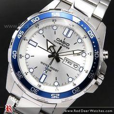 BUY Casio Super illuminator 100M Analog Mens Watch MTD-1079D-7AV, MTD1079D - Buy Watches Online | CASIO Red Deer Watches