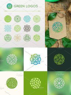 Vector Logo Design, Logo Design Template, Logo Templates, Logo Nature, Ideas Para Logos, Web Minimalista, Logo Branding, Branding Design, Circular Logo