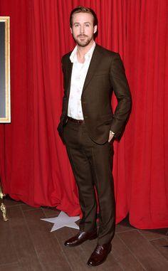 Hello beautiful | Men is Suits | Pinterest | Brown suits, Ryan ...