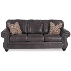 Recliner Sofa Pantomine PC with RAF Cuddler Sectional by Ashley Furniture is now available at American Furniture Warehouse