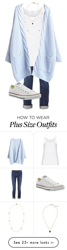 """Go Heels!!! "" by skmorris18 on Polyvore featuring Karl Lagerfeld, Zhenzi, Converse, Kendra Scott and Roberto Coin"
